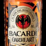 Koop Bacardi rum oakheart 1 liter 35% bij Slijterij de Prins